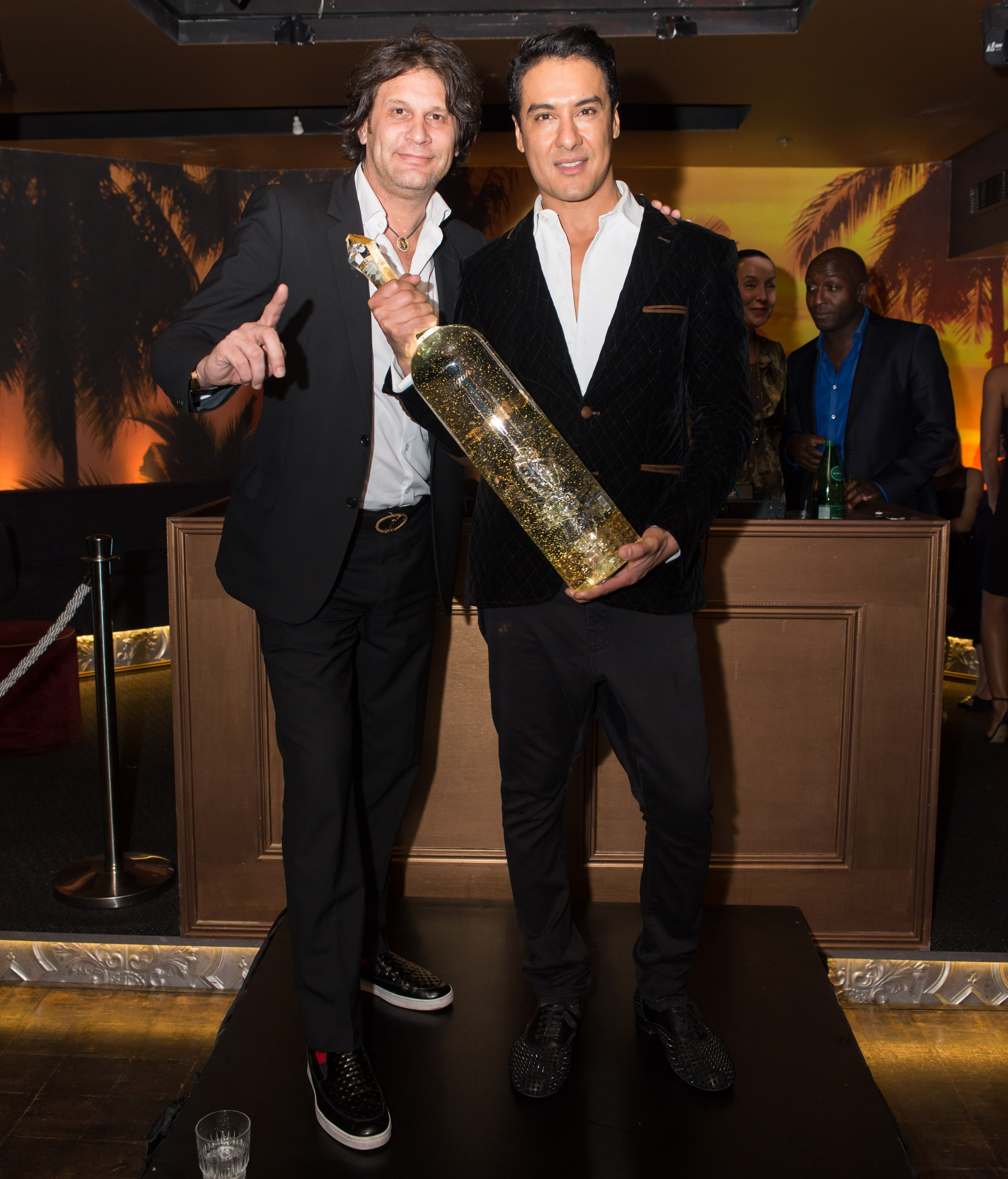 Royal Dragon Vodka Launch Michel Morren and Kharim Garbi 27th 5th_Casablanca_Double Bay Image_Guy Davies